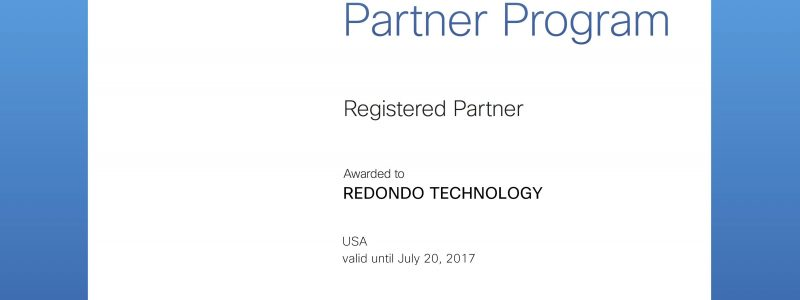 Cisco Partner Redondo Technology