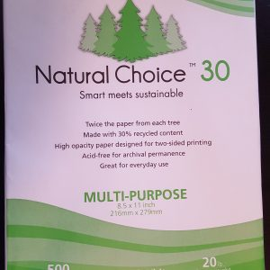 Natural Choice 30% Recycled Paper